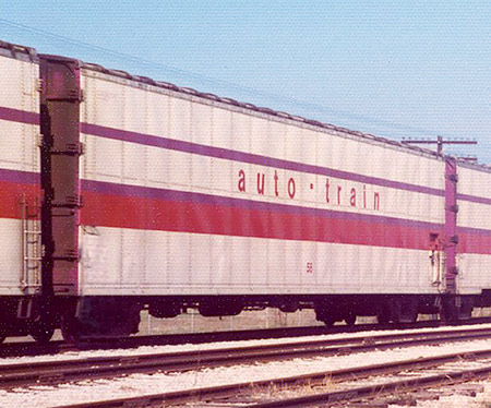 Auto-Train Corporation Auto Carrier
