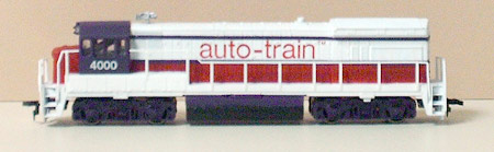 HO Auto-Train by Bachmann