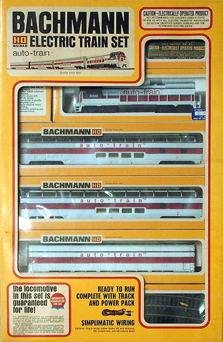 HO Scale Auto-Train by Bachmann