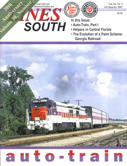 ACL & SAL Historical Society LINES SOUTH Vol 20 No 3