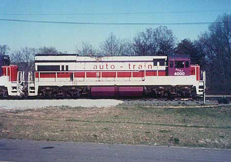 Auto-Train Corporation GE U36B 4000 Big Red