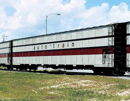 Auto-Train Auto Carrier