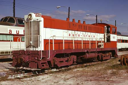 Auto-Train Corporation Switcher 623 WP Western Pacific 581