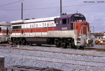 Auto-Train Corporation GE U36B 4005