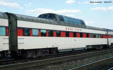 Auto-Train Corporation Dome Coach