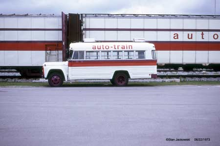 Auto-Train Corporation Crew Bus Sanford, FL