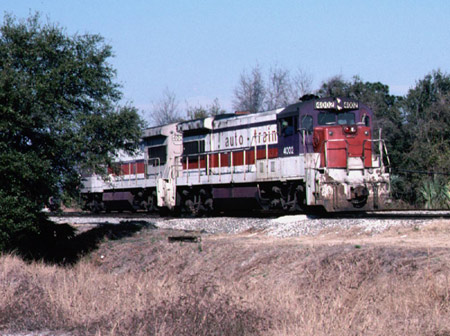 Auto-Train Corporation GE U36B 4002
