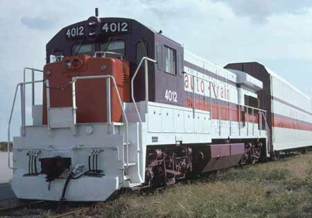 Photo of the Auto-Train