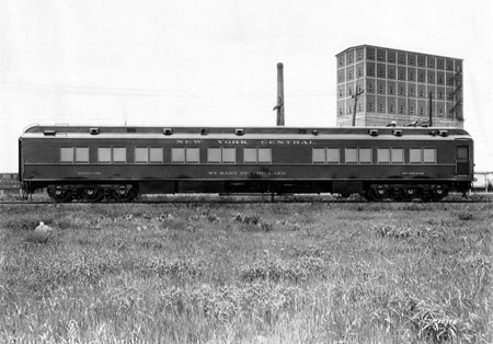 The 1926 Cardinal's Train  St. Mary of the Lake