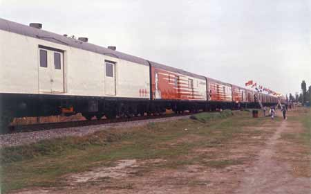 Photo of the Canadian Discovery Train
