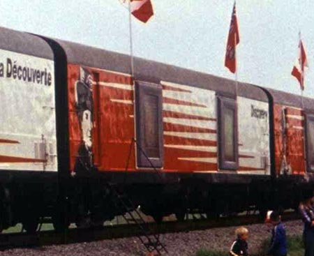 Canadian Discovery Train Car 8