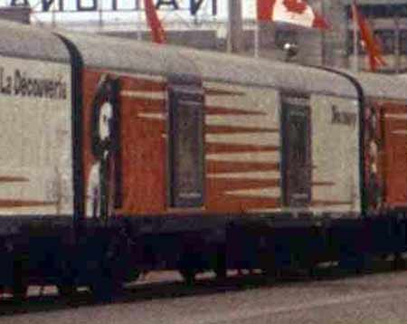 Canadian Discovery Train Car 10
