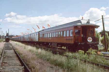 Canadian Discovery Train Observation Car