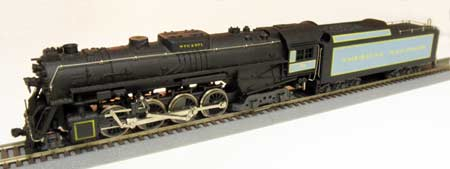 Photo of the Golden Spike Centennial Limited American Railroads Berkshire 759 in HO Scale by Rivarossi