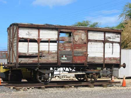 1949 Merci Train 40 & 8 Boxcar Hawaii