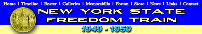 The 1949-1950 New York State Freedom Train