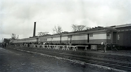 Photo of the New York State Freedom Train