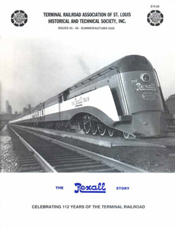 1936 Rexall Train TRRA Magazine